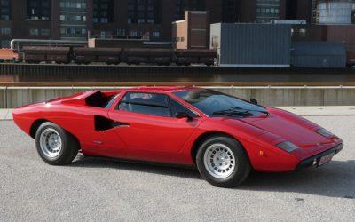 Classic car Lamborghini Countach