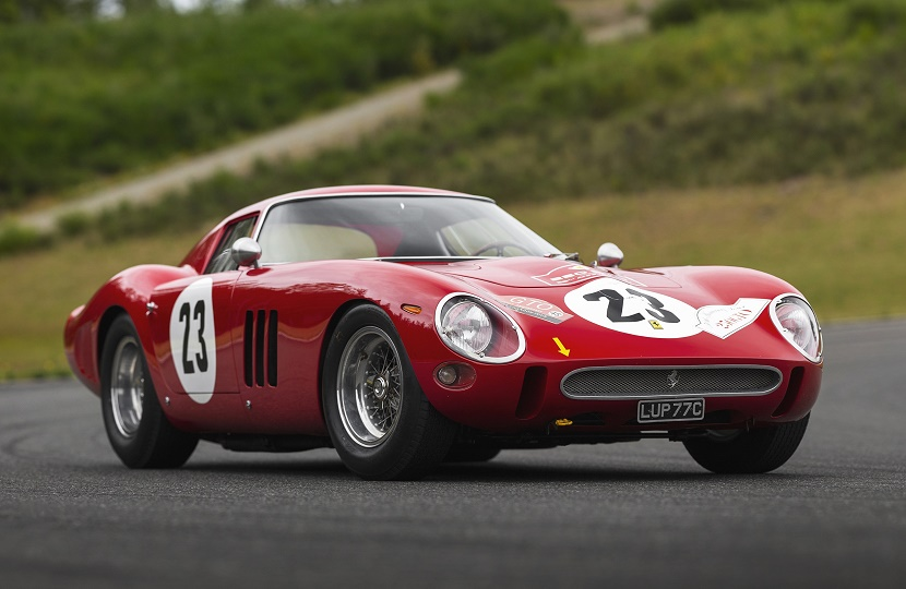 The 1962 Ferrari 250 GTO, set to become the most valuable car ever sold at auction