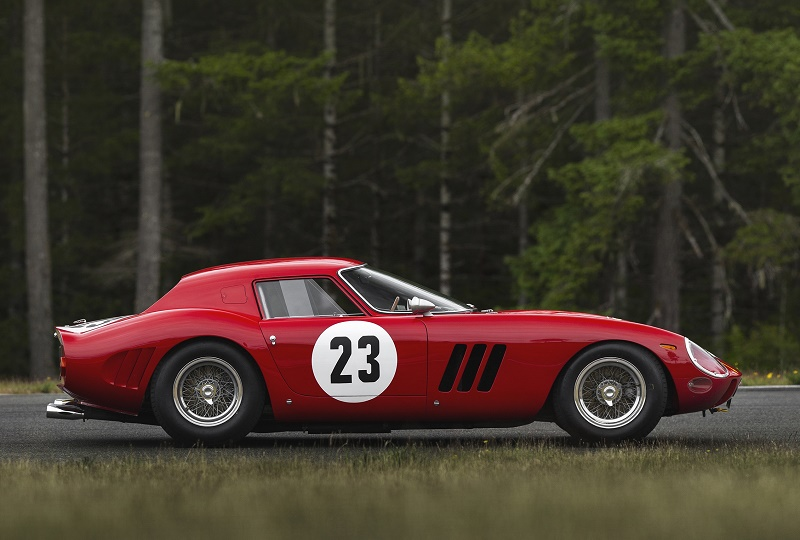 The lucky new owner will join an exclusive group of 250 GTO collectors