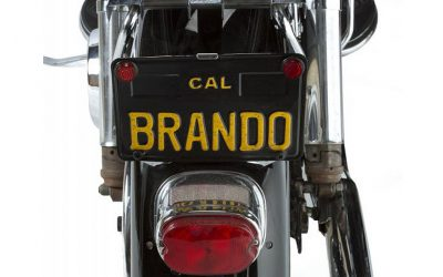 Marlon Brando's Harley Davidson motorcycle