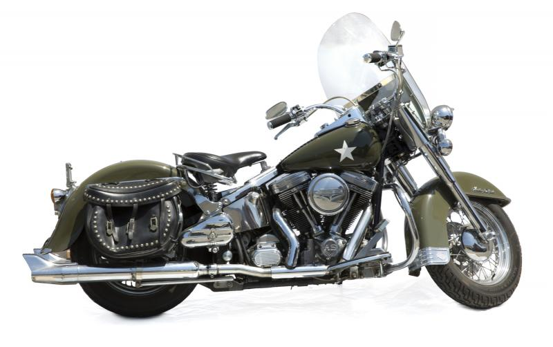 Arnold Schwarzenegger's Harley Davidson motorcycle