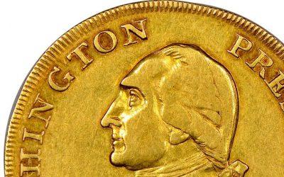Washington President Gold Eagle coin