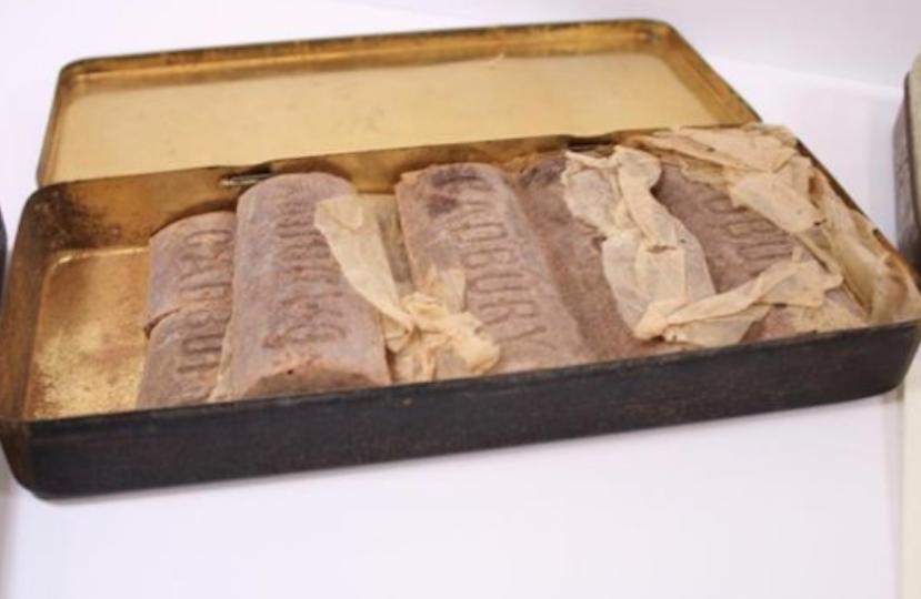 WWI Cadbury Chocolate tin