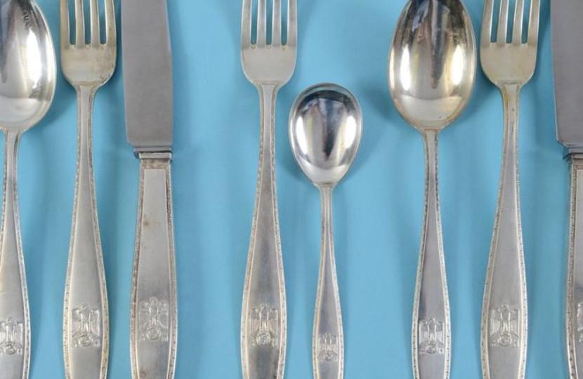 Adolf Hitler Birthday Cutlery