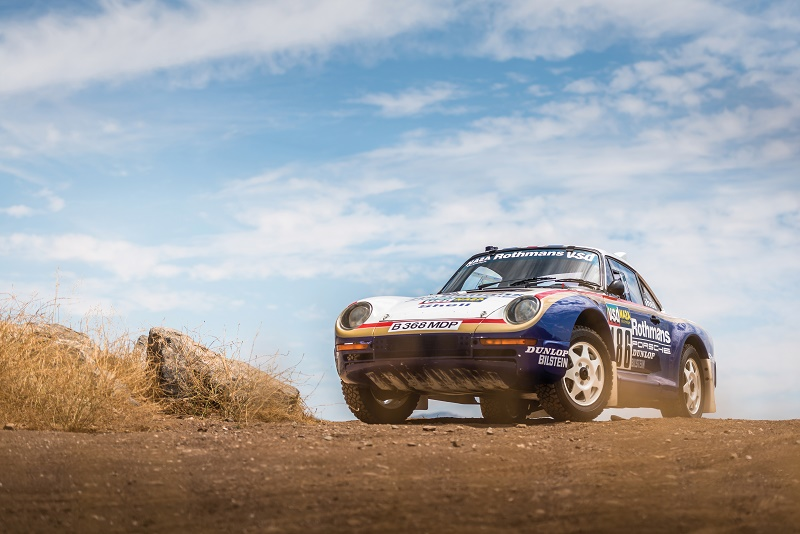 Porsche developed the 4-wheel drive to survive the gruelling off-road conditions of the dessert race