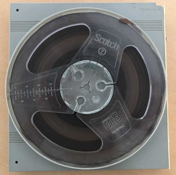 The tape is the only surviving recording of Bowie performing with his first band The Konrads back in 1963
