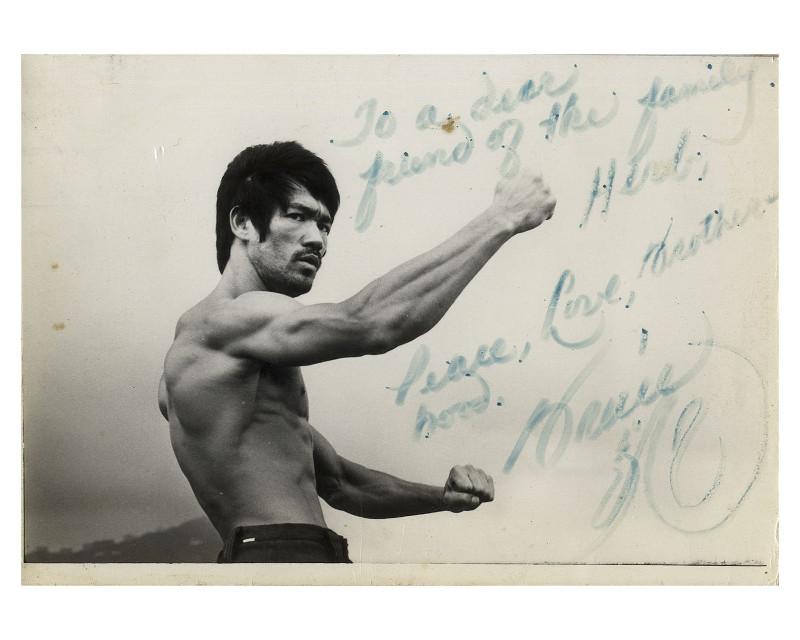 Bruce Lee Signed