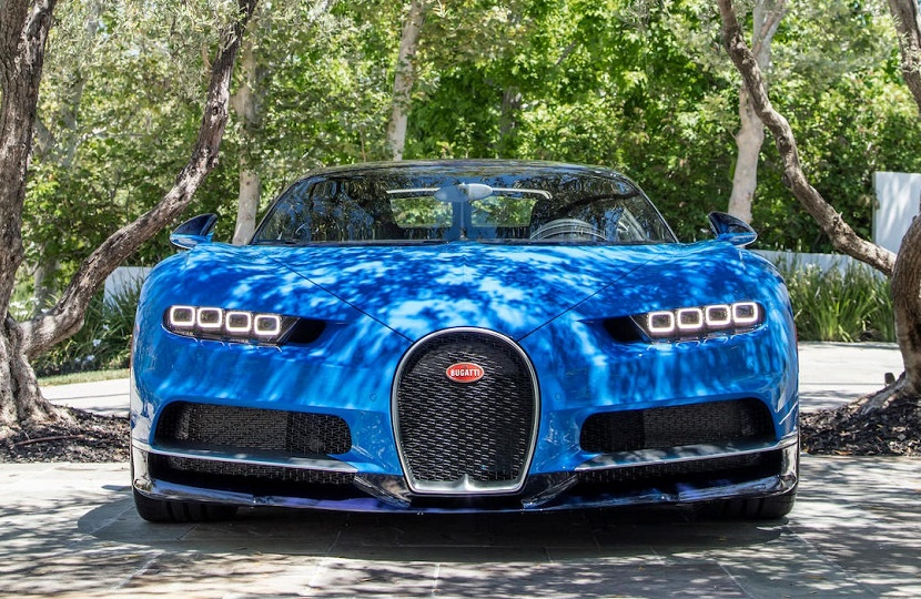 """The Bugatti Chiron, described as """"the most daunting hypercar ever built""""."""