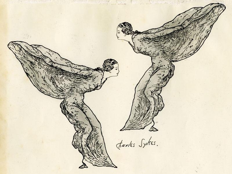 Spirit of Ecstasy Drawing