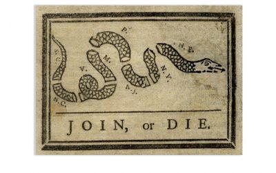 Benjamin Franklin Join or Die