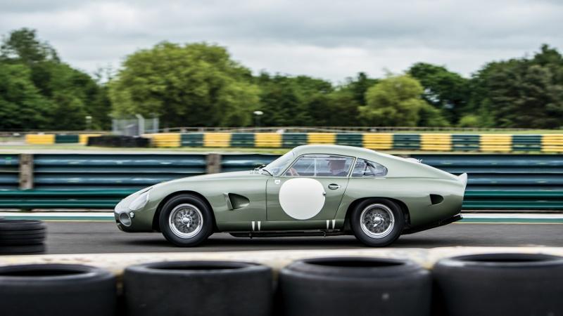The unique Aston Martin prototype which sold for $21.45 million