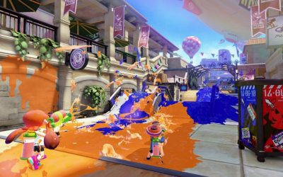 Splatoon video game at V&A video game exhibition