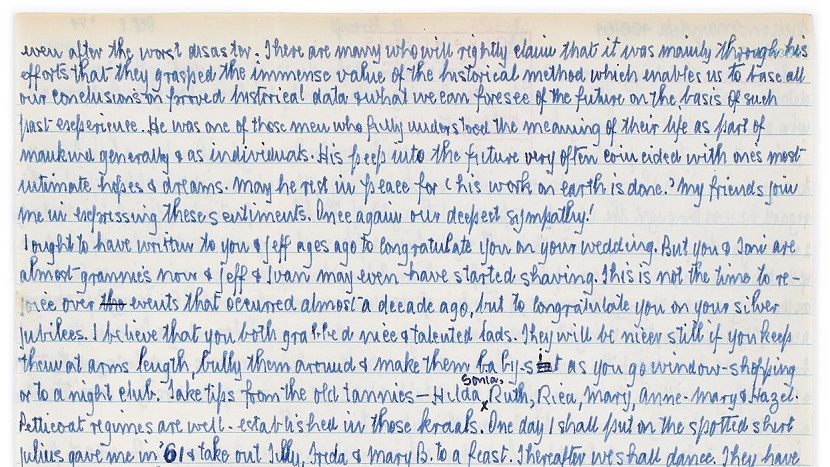 The letter is expected to sell for up to £100,000 ($130,000) at Bonhams on September 14