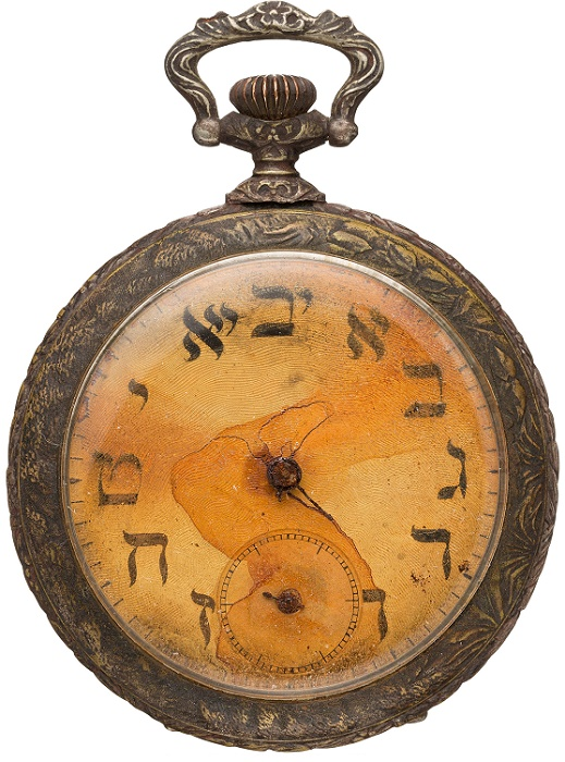 Sinai Kantor's pocket watch was recovered with his body eight days after the Titanic sank