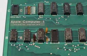 Less than 10 Apple-1 computers are known to have survived in working order