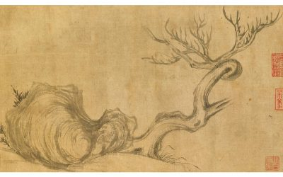 Su Shi's 'Wood and Rock, estimated at more than HK$450 million (US$51 million)