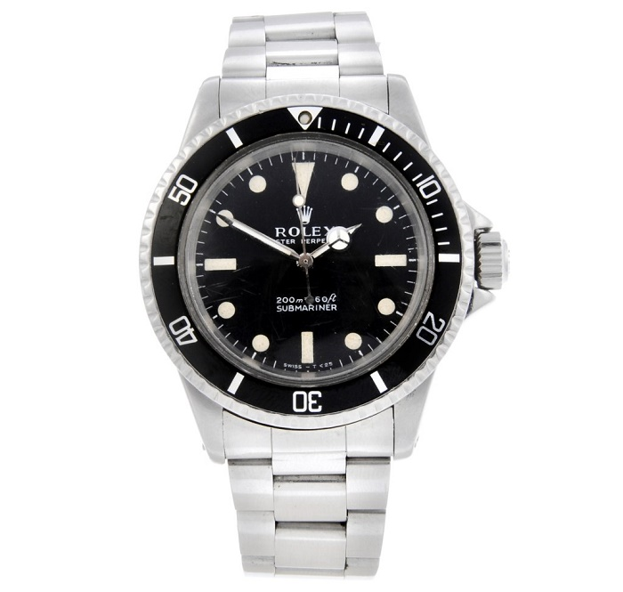 The Rolex Submariner was damaged during the explosive stunt, but was later fixed by Rolex free of charge