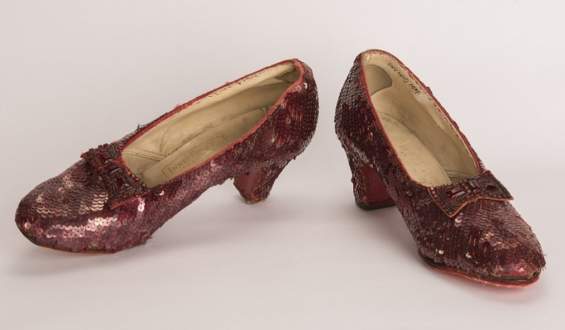 Just four original pairs of screen-worn slippers from the movie are believed to exist