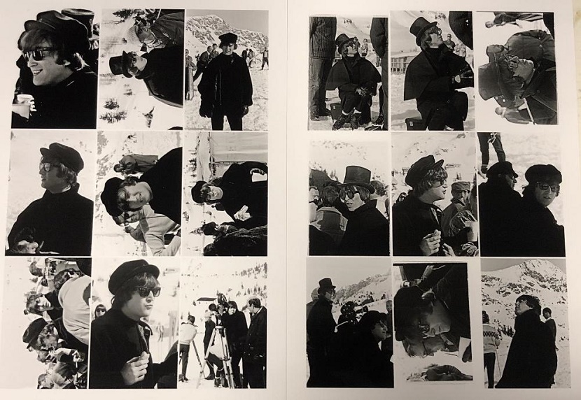 The previously unseen archive of photographs comes with a price tage of up to £15,000 ($19,700)