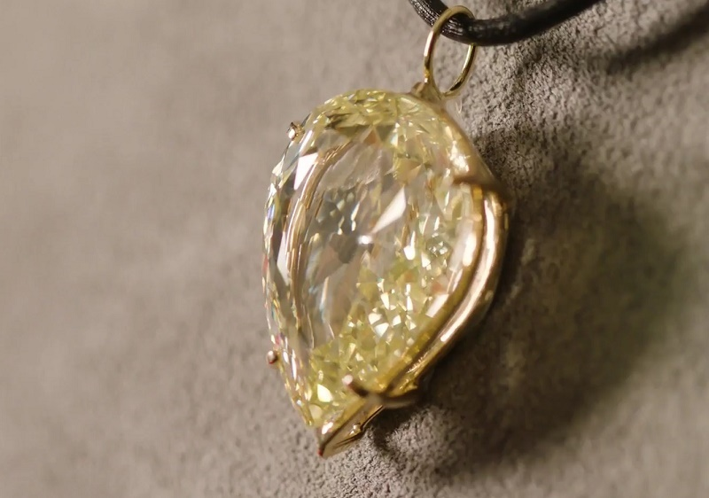 The 500-year-old diamond comes with an estimate of approximately $510,000 - $765,000