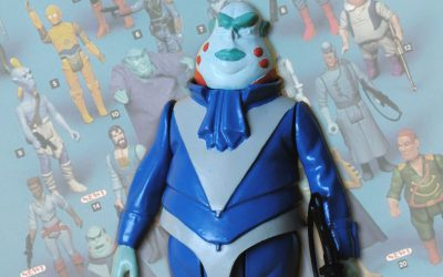 Vlix is considered the 'Holy Grail' for toy collectors - although most Star Wars fand will have never heard of him.