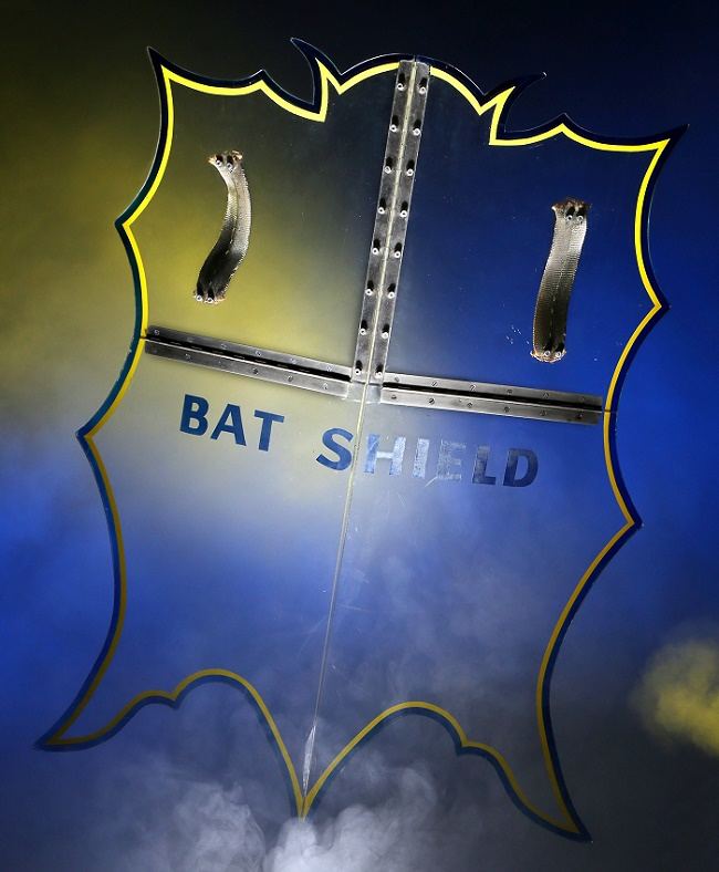 The original TV Bat-shield comes with an estimate of up to $600,000