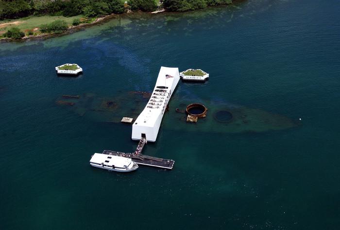 USS Arizona Pearl Harbor life ring