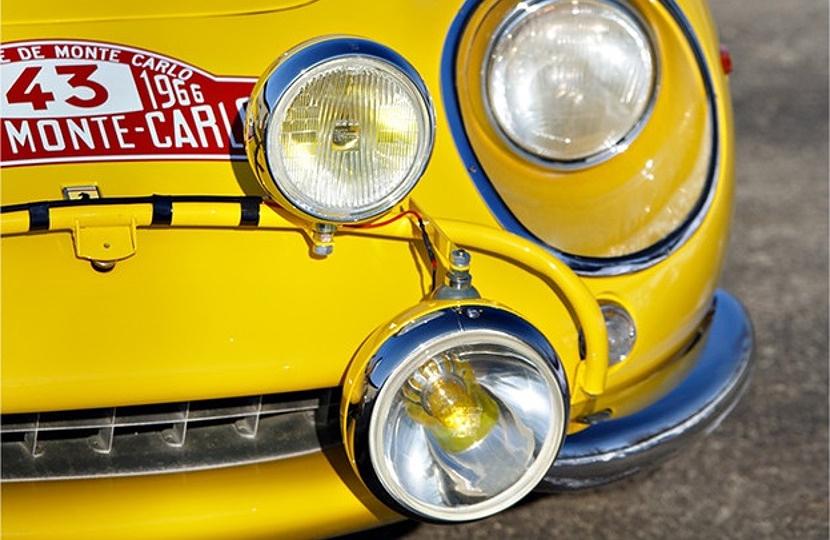 The unique Ferrari was raced in the famous Monte Carlo Rally