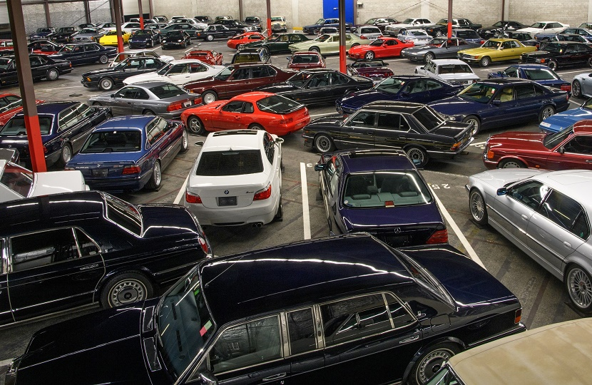 The huge single-owner collection includes classic cars from the 1980s, 90s and 2000s