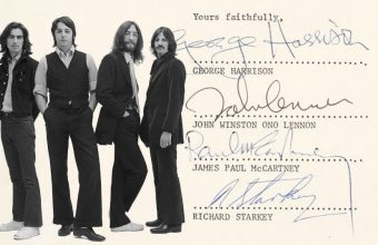 The band officially dissolved the Apple Corps busines partnership in 1974, after years of legal wrangling.