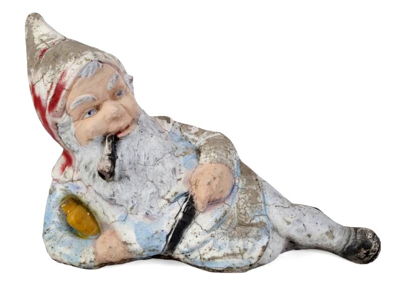 Ronnie James Dio's garden gnome
