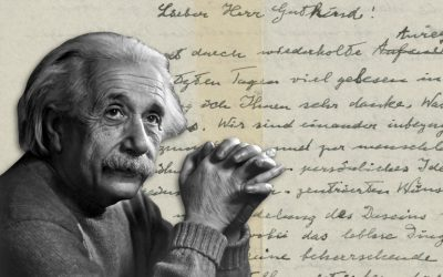 Einstein's famous 1954 letter to philosopher Eric Gutkind sold at Christie's for $2.89 million