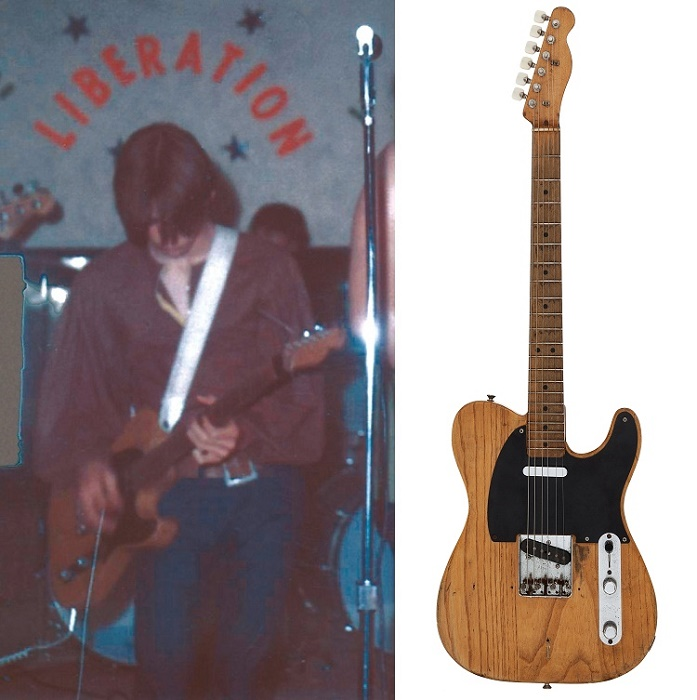Stevie Ray Vaughan's first guitar