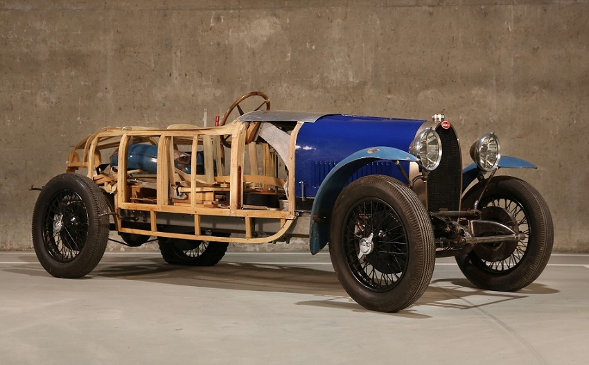 The 1929 Type 40 estimated at €70,000 - €130,000