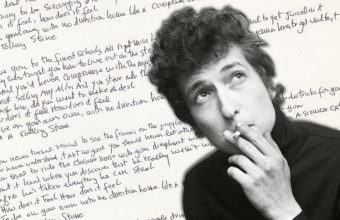 Bob Dylan like a rolling stone handwritten lyrics