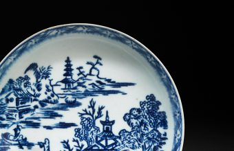 Two pieces by John Bartlam, America's first porcelain manufacturer, are heading for sale at Woolley & Wallis on February 19
