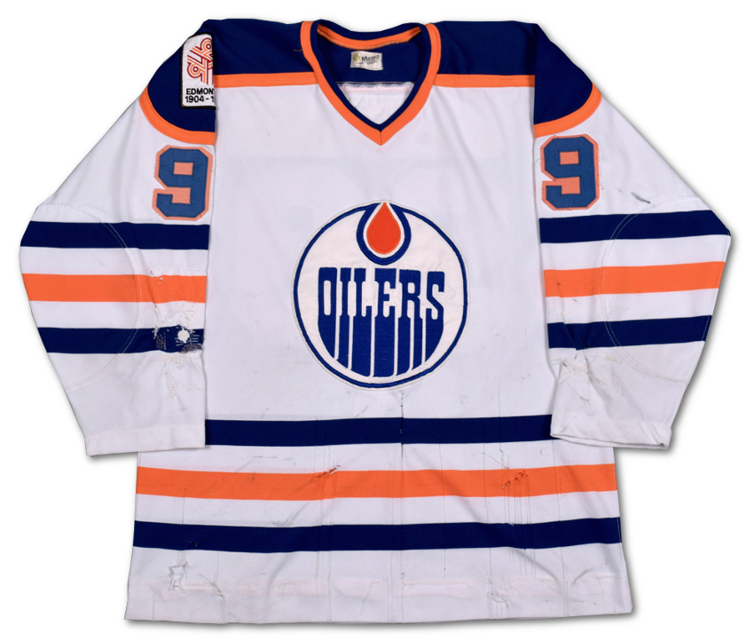 """Wayne Gretzky's historic rookie jersey has been described as """"a Canadian cultural relic"""""""