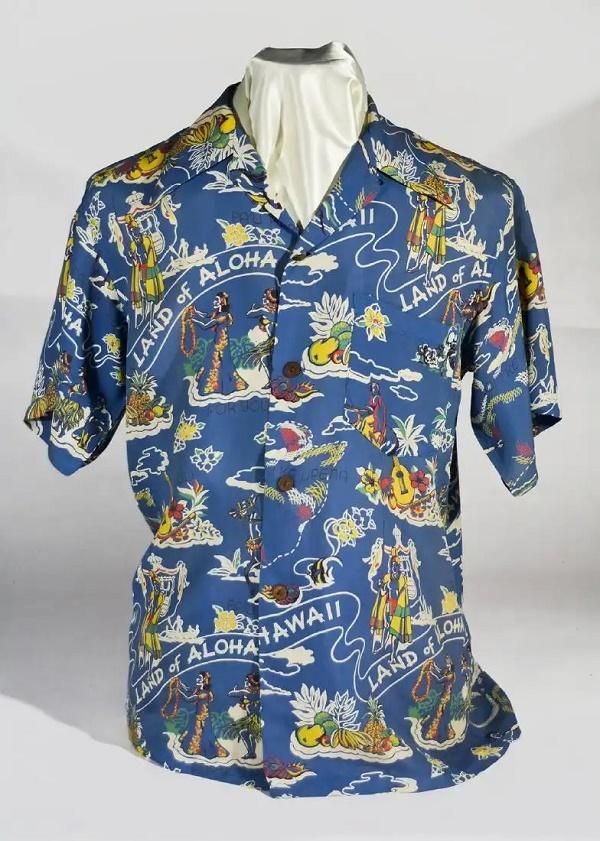 John F. Kennedy's Aloha shirt, estimated at $15,000 - $20,000