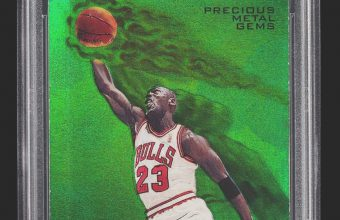 This rare Michael Jordan card sold for $305,100 on February 20, becoming the most expensive basketball card ever sold on eBay
