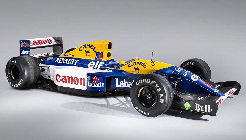 The piece of motorsport history comes with an estimated value of up to £3 million ($3.86 million)