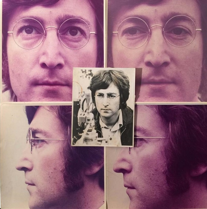 Andy Warhol's previously unpublished photographs were initially intended as the cover artwork for his classic 1971 album Imagine.
