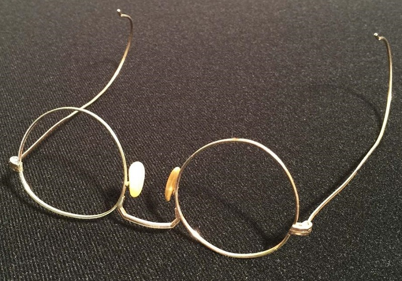 The glasses have remained in Barry Finch's private collection since Lennon gave them to him over 50 years ago.