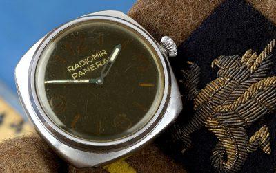The rare Panerai Ref. 3646 wristwatch, designed for elite German frogmen during WWII