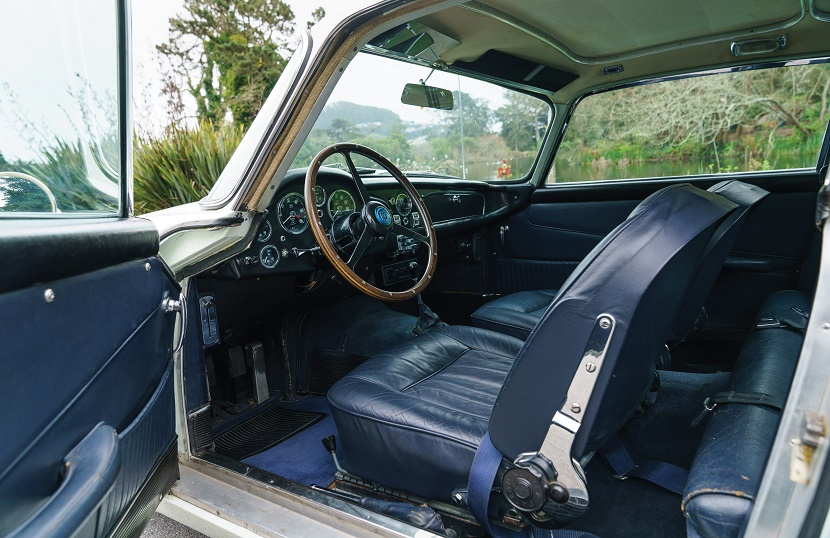 The historic car remains in superb original condition, having never ben fully restored since it rolled out of the factory in 1964.