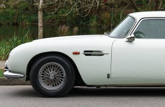 This early Aston Martin DB5 is the first entry in the company's dedicated Aston Martin auction in Monterey on August 15.