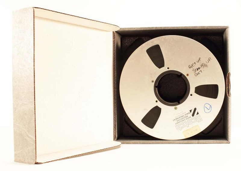 It took two years to restore the recordings, with each tape carefully cleaned inch-by-inch until they were ready to play