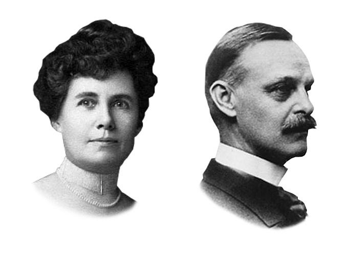 Helen Churchill Candee (1858-1949) and Edward Kent (1854-1912)