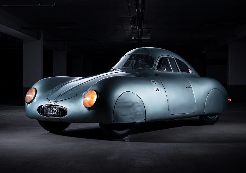The 1939 Type 64, designed by Ferdinand Porsche