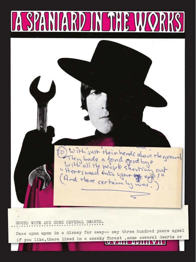 John Lennon's 1965 book 'A Spaniard In The Works', with extracts from the original poems offered at Bonhams on June 26