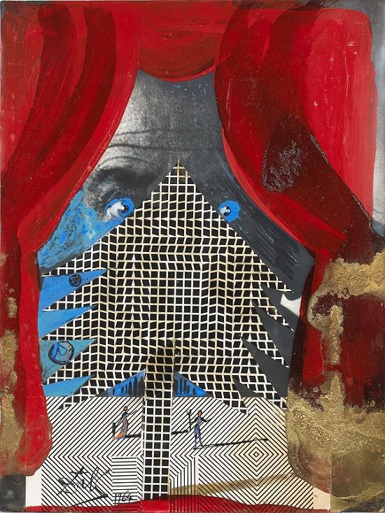 Cuadricula by Salvador Dali (1964) Estimate: €30,000 – 40,000